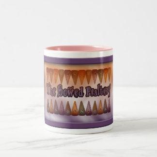Taza de café en colores pastel del salterio