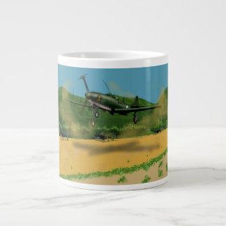 Taza de café enorme de Bell P39 Airacobra Taza Grande