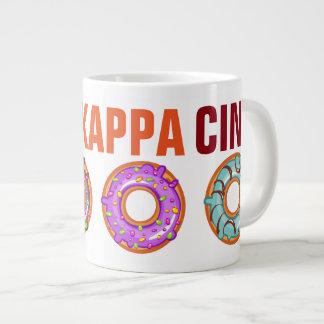 Taza de café enorme de KappaKappaCino Taza Grande