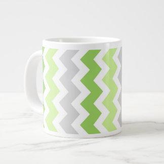 Taza de café enorme de los galones grises de la ca tazas jumbo