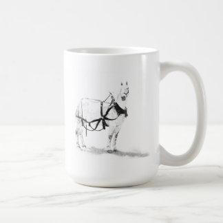 Taza de café equina del arte del caballo de
