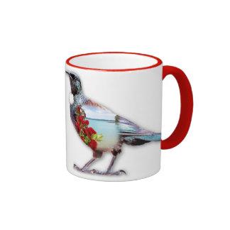 Taza de café escénica de Nueva Zelanda