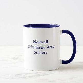 Taza de café escolástica de la sociedad de los