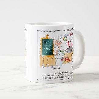 Taza de café ESPECIAL del dibujo animado del