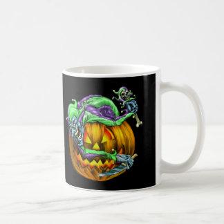 Taza de café espeluznante de JesterKin