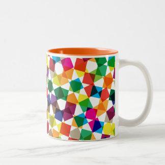 Taza de café - estallidos de primario