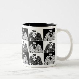Taza de café estática de la impresión