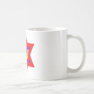 Taza de café estupenda del judío
