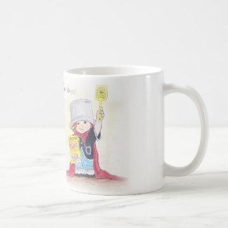 Taza de café estupenda del muchacho