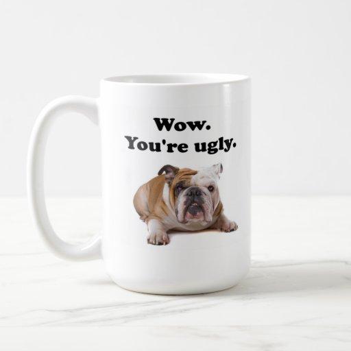 Taza de café fea