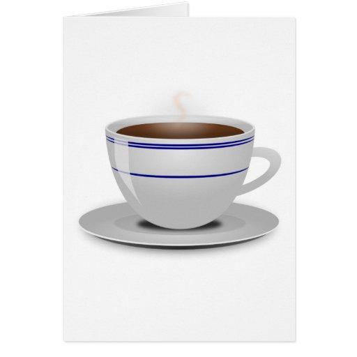 Taza de café felicitacion
