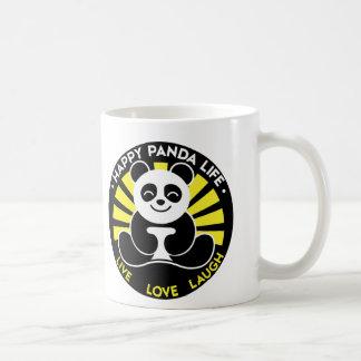 Taza de café feliz de la sol de la vida de la