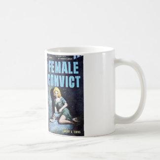 Taza de café femenina del Convict