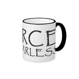 Taza de café feroz