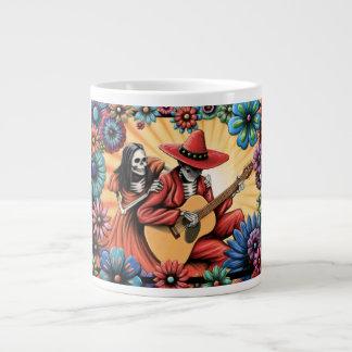 Taza de café Flailing de los inhaladores Taza Jumbo