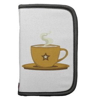 Taza de café planificador