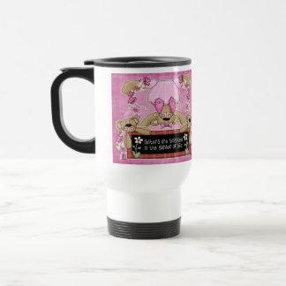 Taza de café fraternal del amor