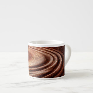 Taza de café fundida del café express del moreno d taza espresso