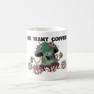 Taza de café fungosa de Humongus