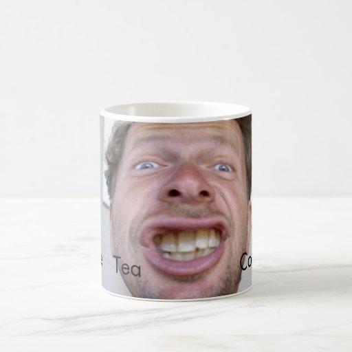 Taza de café grande de la boca