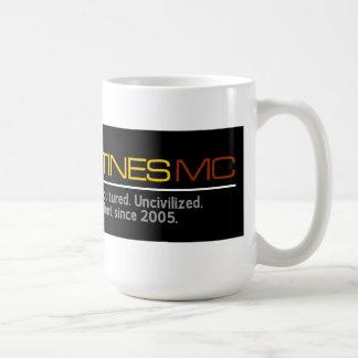 Taza de café grande de la bujía métrica de los fil