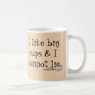 Taza de café grande de las tazas