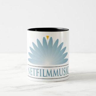 Taza de café grande de NETFilmMusic