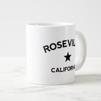 Taza de café grande de Roseville California Taza Grande