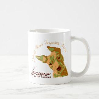 taza de café GRANDE del rescate del matón del