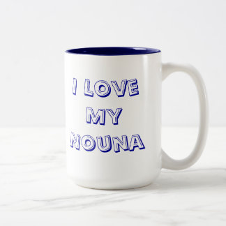 Taza de café griega de la madrina de Nouna
