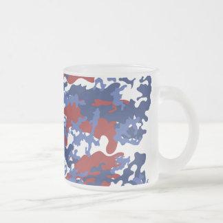 Taza de café helada Camo del americano