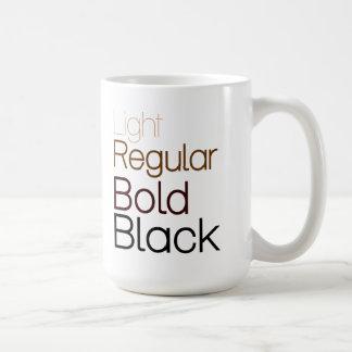 Taza de café Helvética