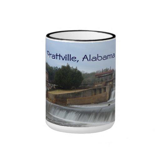 Taza de café histórica de la presa de Prattville A