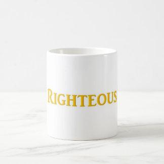 Taza de café honrada