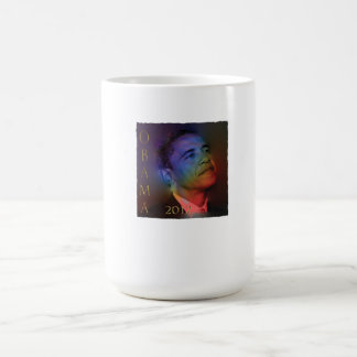 Taza de café iluminada Obama del cuartel
