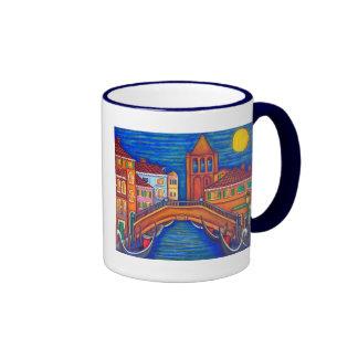 Taza de café iluminada por la luna de San Barnaba