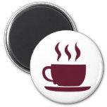 Taza de café imán para frigorífico