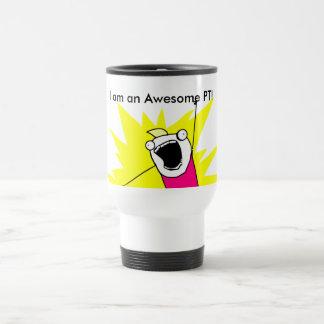 Taza de café impresionante de la pinta