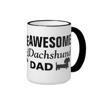 Taza de café impresionante del papá del Dachshund