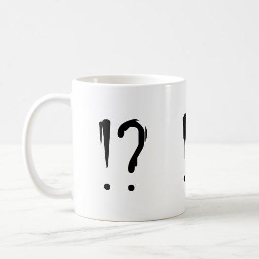 Taza de café - Interobang