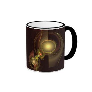 Taza de café íntima del extracto de la conexión