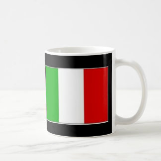 Taza de café italiana del orgullo