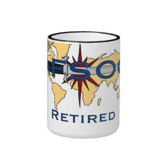 Taza de café jubilada AFSOC de la fuerza aérea