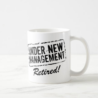 Taza de café jubilada el bajo nueva gestión
