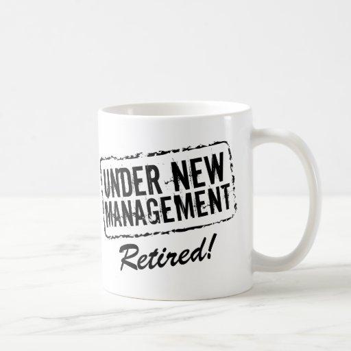Taza de café jubilada el | bajo nueva gestión