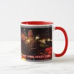 Taza de café justa del Estado de Nuevo York
