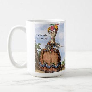 Taza de café - la vida bien es la mejor venganza