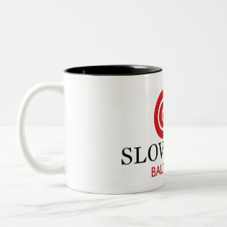 Taza de café lenta del tono de la comida dos