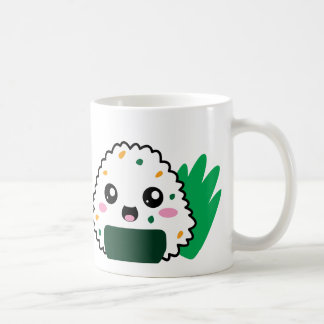 Taza de café linda de Onigiri