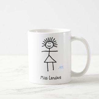 Taza de café linda y divertida personalizada del